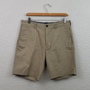 "J.Crew Stretch Chino Shorts size 31 9"" Inseam"